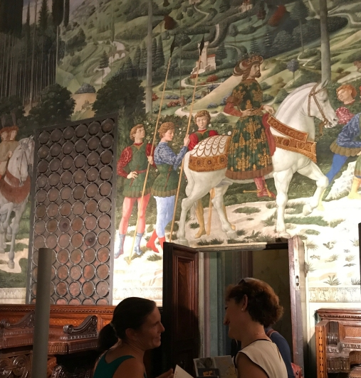 Palazzo Medici Riccardi with Benozzo Gozzoli murals